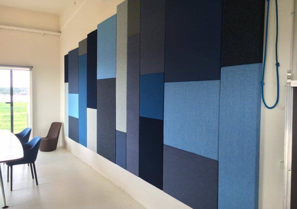 Akustik-væg
