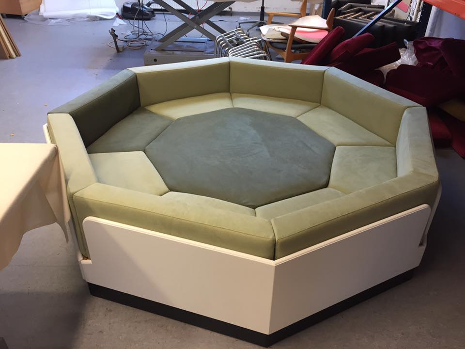 Specialbygget sofa